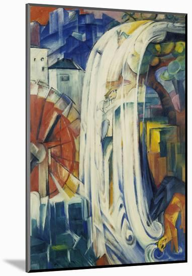 The Bewitched Mill, 1913-Franz Marc-Mounted Giclee Print