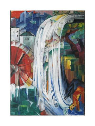 The Bewitched Mill, 1913-Franz Marc-Giclee Print