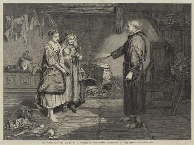 The Bible and the Monk-John Pettie-Giclee Print