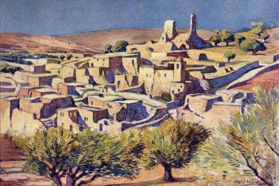 The Biblical Village of Bethany, Near Jerusalem, C.1910-Harry Morley-Giclee Print