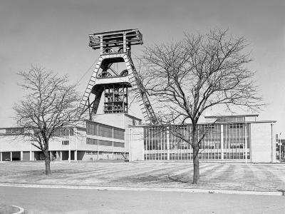 The Big A, Hem Heath Colliery, Trentham, Staffordshire, 1960-Michael Walters-Photographic Print