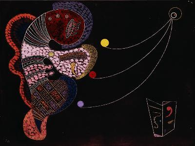 The Big and the Small (Le Gros et le Mince). 1937-Wassily Kandinsky-Giclee Print