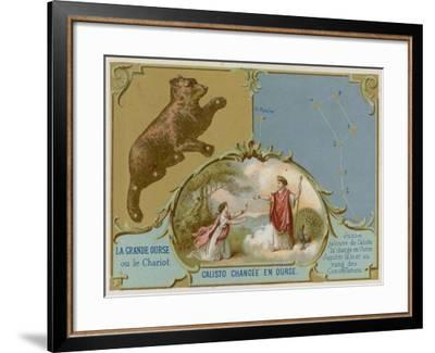 The Big Dipper or the Plough--Framed Giclee Print