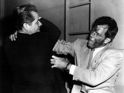 The Big Heat, Glenn Ford, Lee Marvin, 1953--Photo