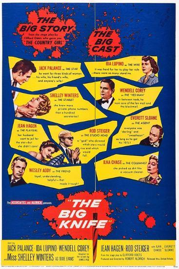 The Big Knife--Art Print