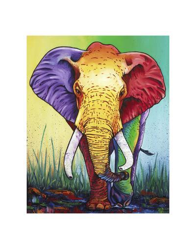 The Big Show-Steven Schuman-Art Print