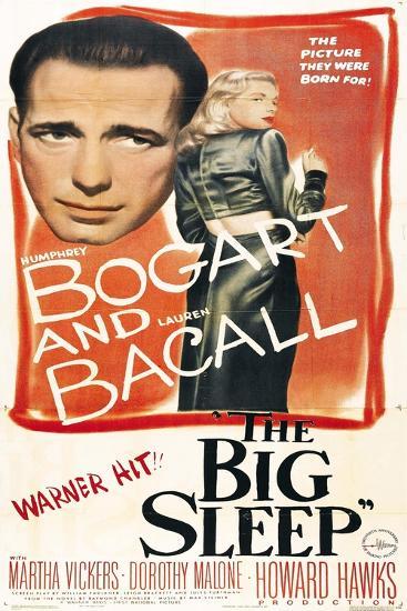 The Big Sleep, 1946, Directed by Howard Hawks--Giclee Print