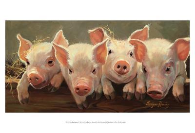 The Big Squeeze-Carolyne Hawley-Art Print