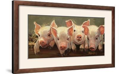 The Big Squeeze-Carolyne Hawley-Framed Photographic Print