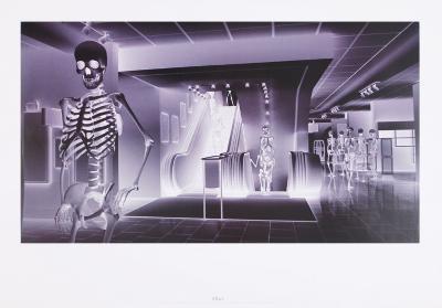 The Big Store-Lars Arrhenius-Art Print