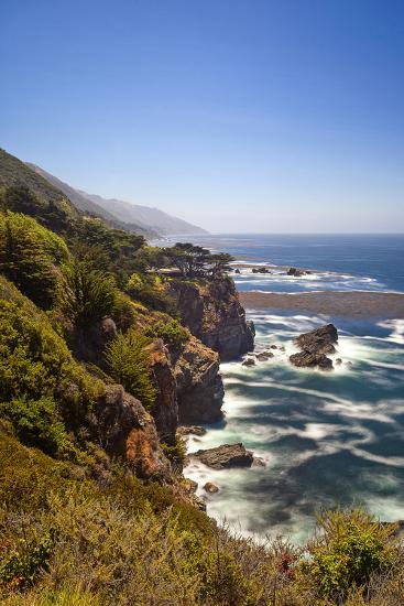 The Big Sur Coastline of California-Andrew Shoemaker-Photographic Print