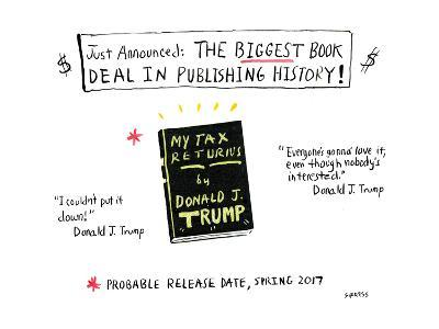 The biggest book deal in publishing history! - Cartoon-David Sipress-Premium Giclee Print