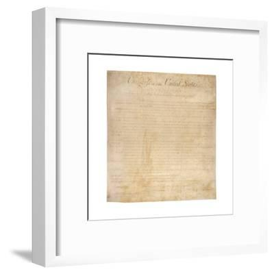 The Bill of Rights, the First Ten Amendments to the US Constitution, 1791