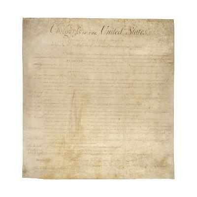 The Bill of Rights--Giclee Print