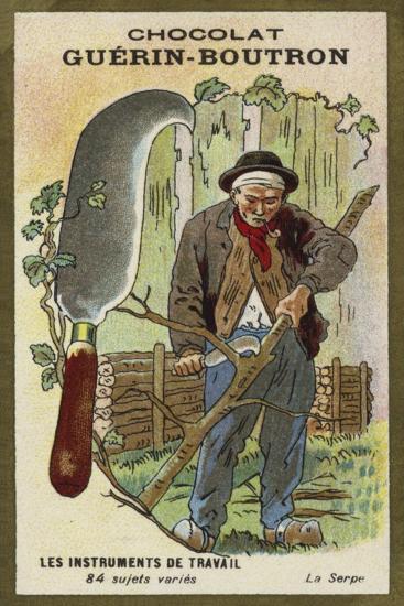 The Billhook--Giclee Print