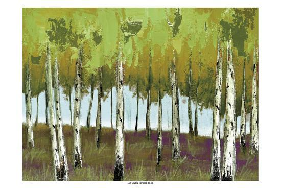 The Birch 2-Sunny Sunny-Art Print