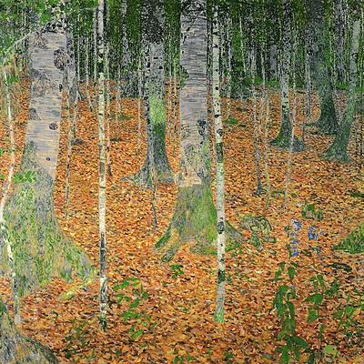 The Birch Wood, 1903-Gustav Klimt-Premium Giclee Print