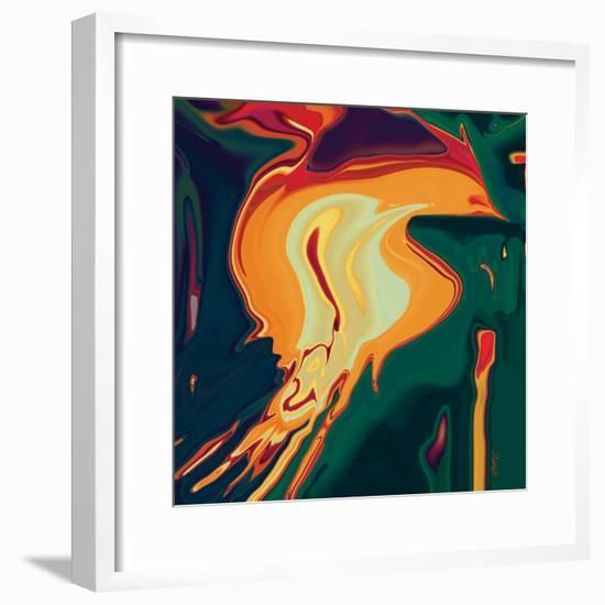 The Bird 2-Rabi Khan-Framed Art Print