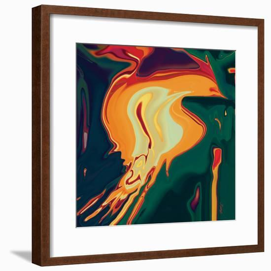 The Bird 2-Rabi Khan-Framed Art Print