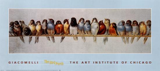 The Bird Perch-Hector Giacomelli-Art Print
