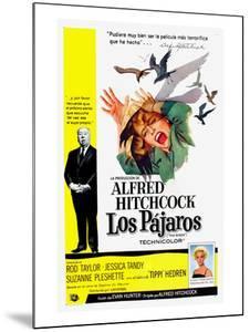 The Birds, (aka Los Pajaros), Alfred Hitchcock, Tippi Hedren, 1963