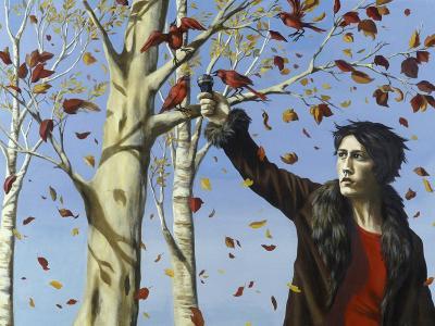 The Birds in Our Garden-Alix Soubiran-Hall-Giclee Print
