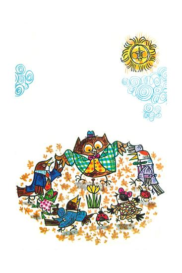 The Birds Told Me - Jack & Jill-Ed Emberley-Giclee Print