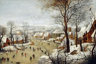 The Birdtrap-Pieter Brueghel the Younger-Giclee Print