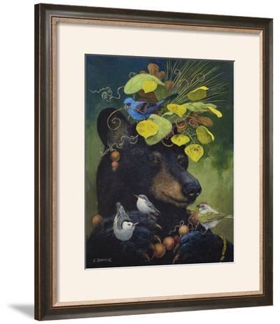 The Birdwatcher-Carolyn Schmitz-Framed Giclee Print