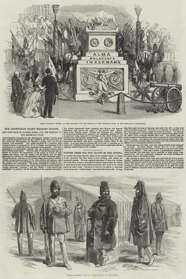 The Birmingham Grand Military Trophy--Giclee Print
