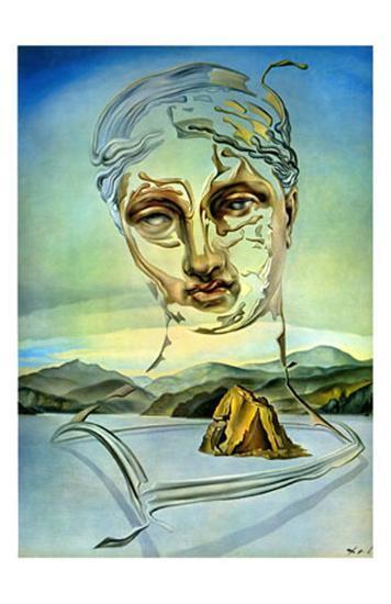 The Birth of a God-Salvador Dal?-Art Print