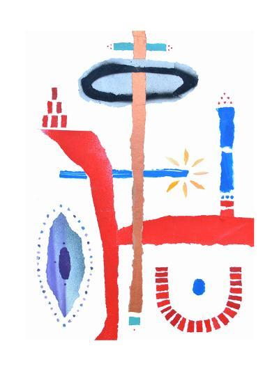 The Birth of Conciousness-Trystan Bates-Premium Giclee Print