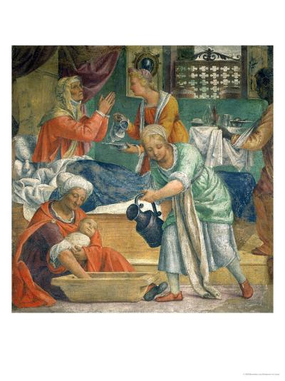 The Birth of the Virgin-Bernardino Luini-Giclee Print