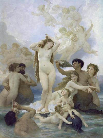 The Birth of Venus, 1879-William Adolphe Bouguereau-Giclee Print