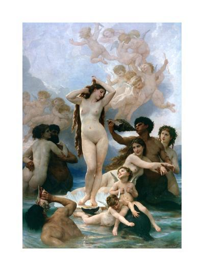 The Birth of Venus, 1879-William-Adolphe Bouguereau-Giclee Print