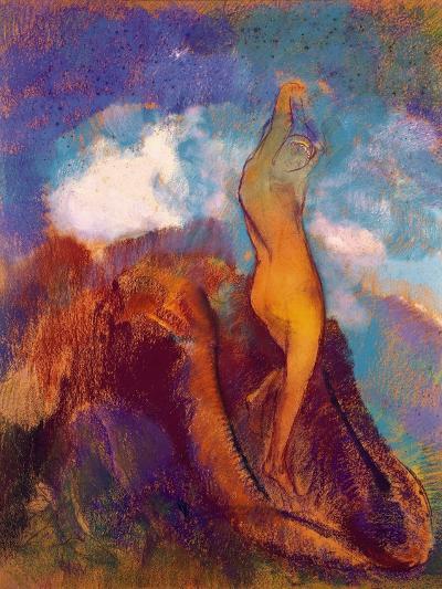 The Birth of Venus, 1912 (Pastel on Paper)-Odilon Redon-Giclee Print