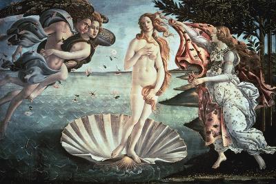 The Birth of Venus, C1482-Sandro Botticelli-Giclee Print
