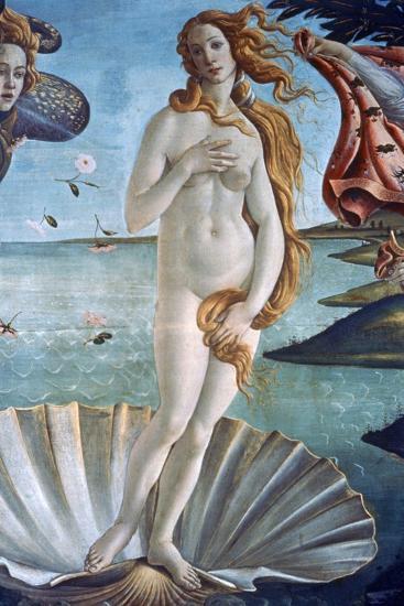 The Birth of Venus (Detail), C1485-Sandro Botticelli-Giclee Print