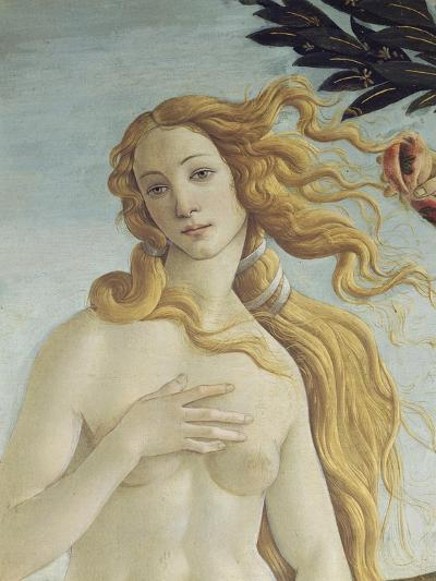 The Birth of Venus (Detail)-Sandro Botticelli-Giclee Print