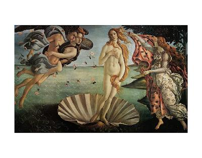 The Birth of Venus-Sandro Botticelli-Art Print