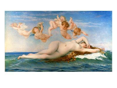 The Birth Of Venus-Alexandre Cabanel-Giclee Print