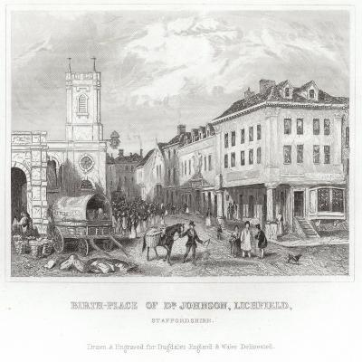 The Birthplace of Dr Johnson--Giclee Print