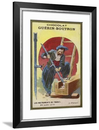 The Bisaigue--Framed Giclee Print