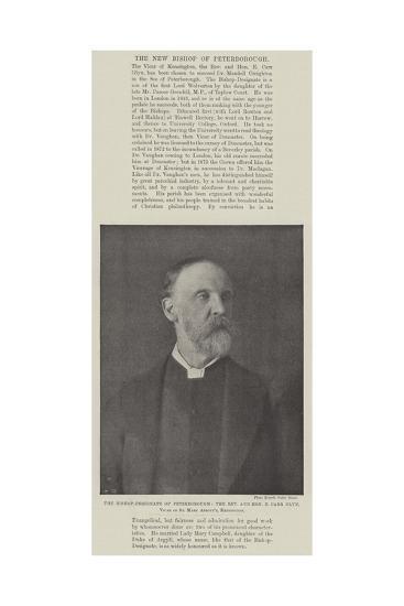 The Bishop-Designate of Peterborough--Giclee Print