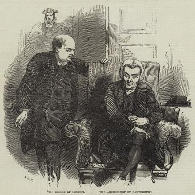 The Bishop of London and the Archbishop of Canterbury--Giclee Print