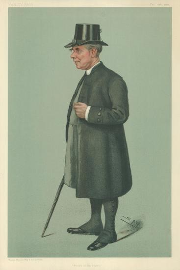 The Bishop of Winchester, Prelate of the Garter, 19 December 1901, Vanity Fair Cartoon-Sir Leslie Ward-Giclee Print