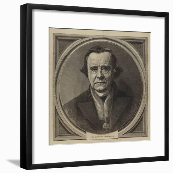 The Bishop of Winchester--Framed Giclee Print