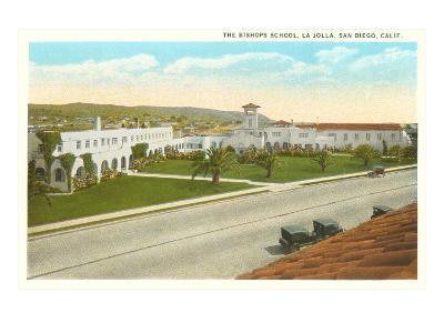 The Bishop's School, La Jolla, California--Art Print