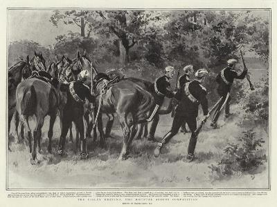 The Bisley Meeting, the Mounted Scouts Competition-Frank Dadd-Giclee Print