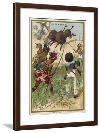 The Bison--Framed Giclee Print